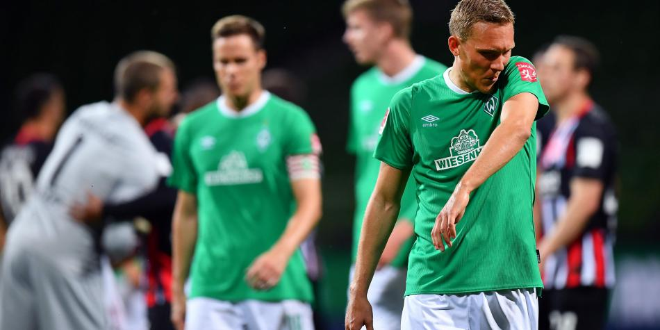 Werder Bremen, cerca al final de una pésima campaña en la Bundesliga.